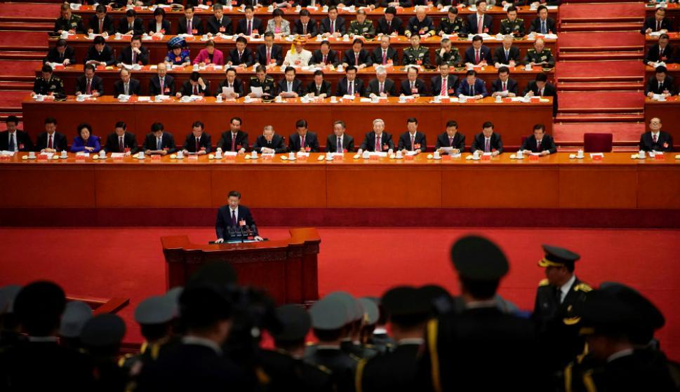 Xi Jinping espera que el Congreso del PCCh renueve su mando por cinco años. Foto: Reuters
