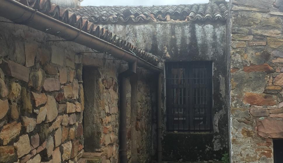 Daños en el museo Posta del Chuy. Foto: Néstor Araujo.