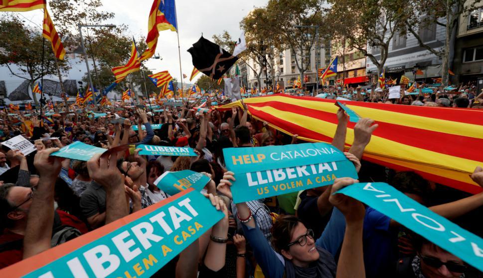 Unas 450.000 personas asistieron a la manifestación. Foto: Reuters.
