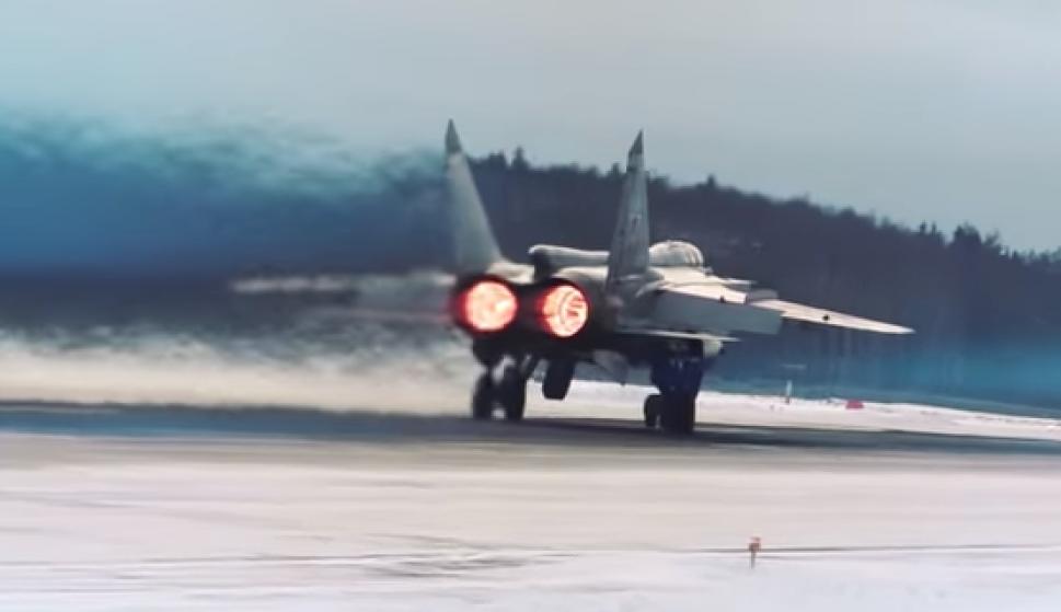 El MiG-31 BM puede desarrollar una velocidad máxima de hasta 3.000 k/h
