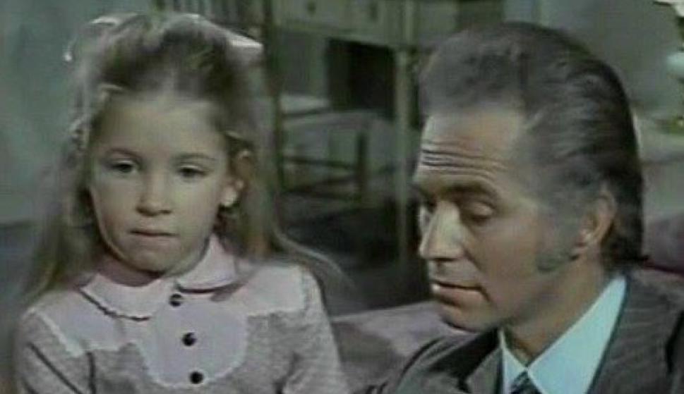 Andrea del Boca en la película Había una vez un circo, de 1972