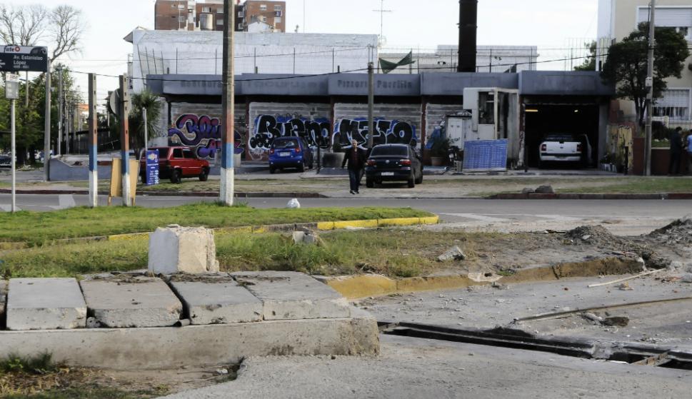 IMM gastó 100.00 pesos para limpiar y tapiar el local abandonado. Foto: D. Borrelli