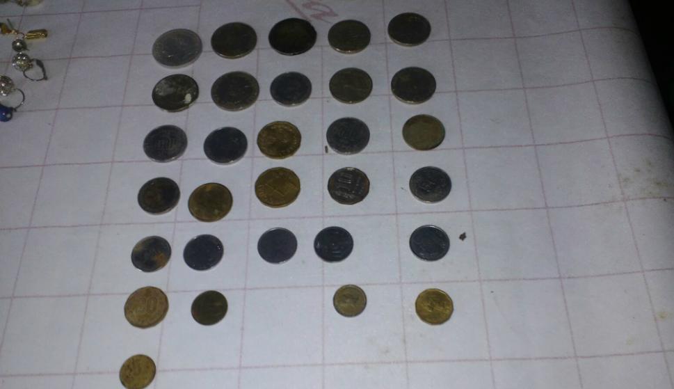 Ahora se intentará determinar el valor y origen de los objetos hallados. Foto: Armada Nacional