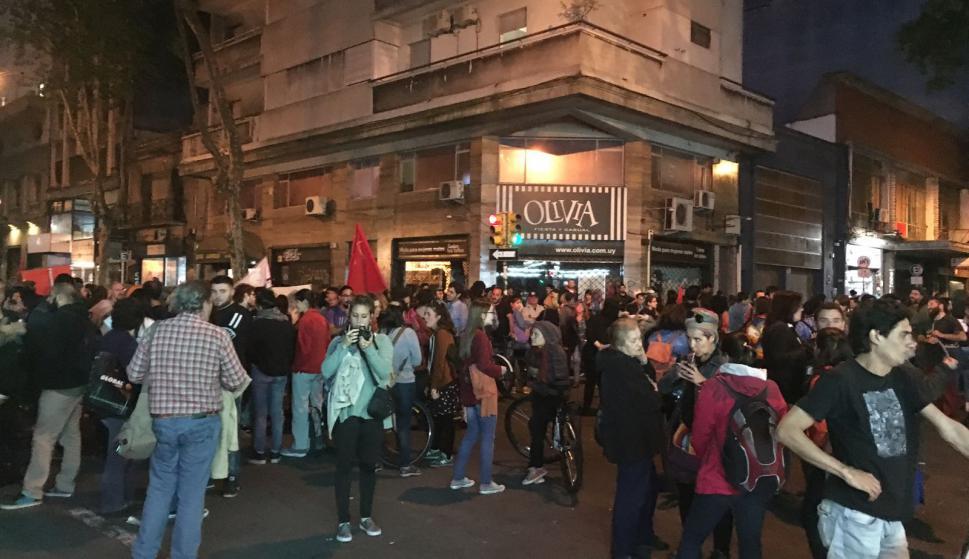 Uruguay se adhirió a los reclamos por Santiago Maldonado. Foto: Nicolás González