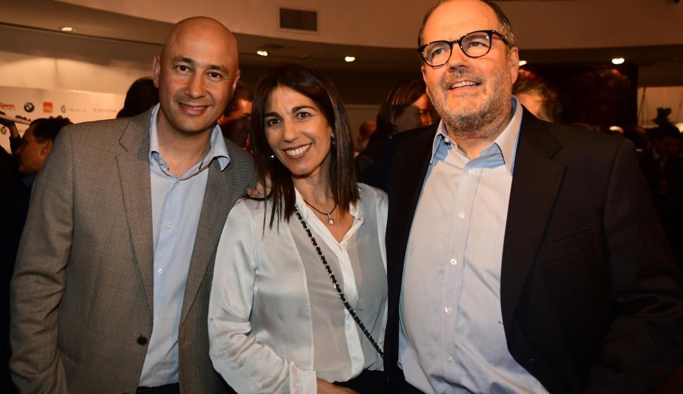 Alvaro Maldonado, Fernanda López de Amorim, Martín Guerra.