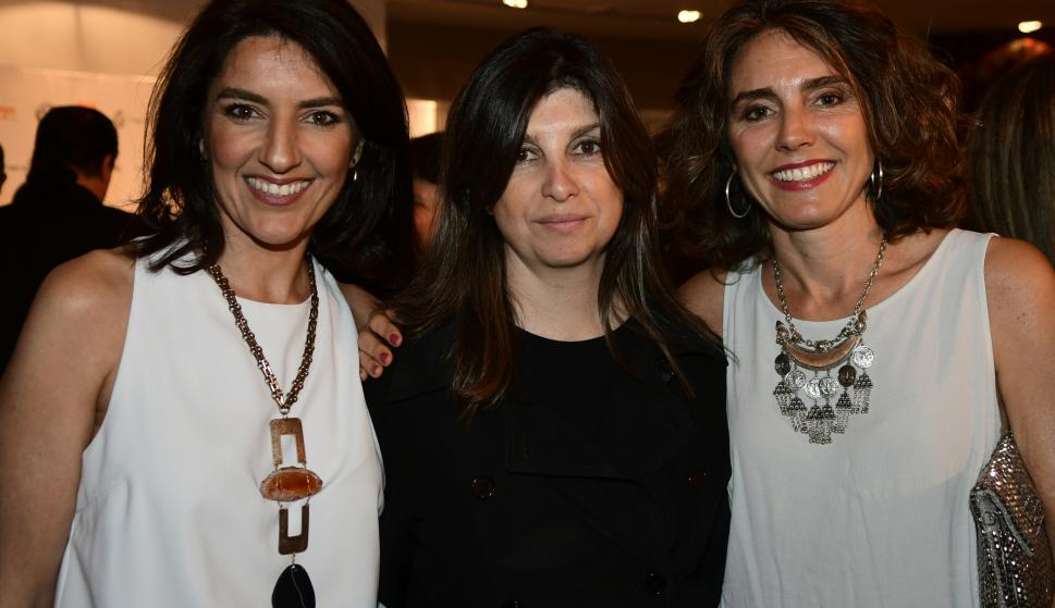 Federica Piccardo, Magdalena Álvarez, Inés Arrosa.