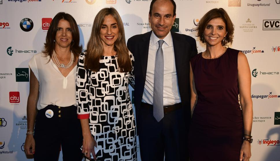 Inés Bonicelli, Beatriz Ponce de León, Pablo Habererer, Fernanda Guliak.