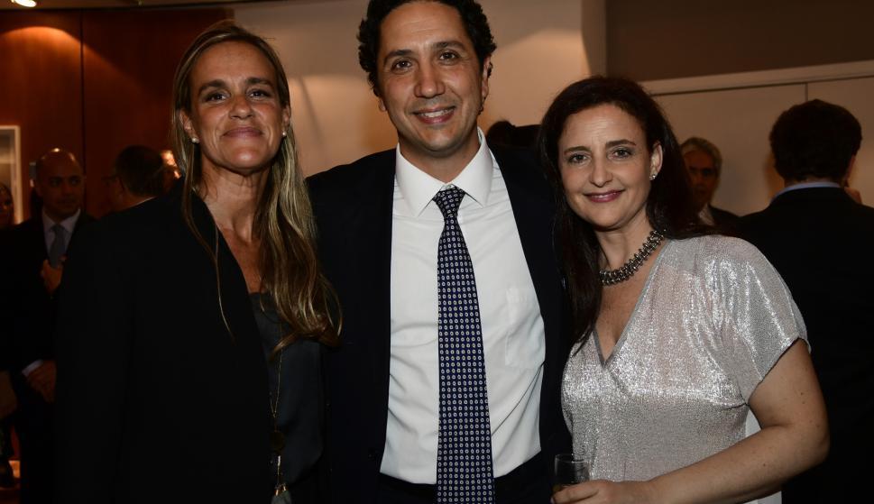 María José Amestoy, José Imaz, Laura Rosa.