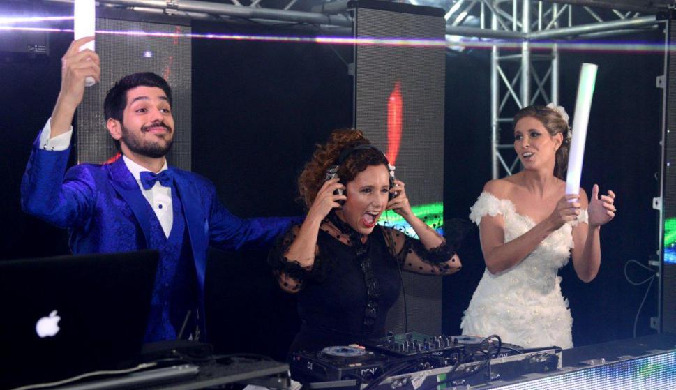 Los recién casados participaron del show de Paola Dalto.