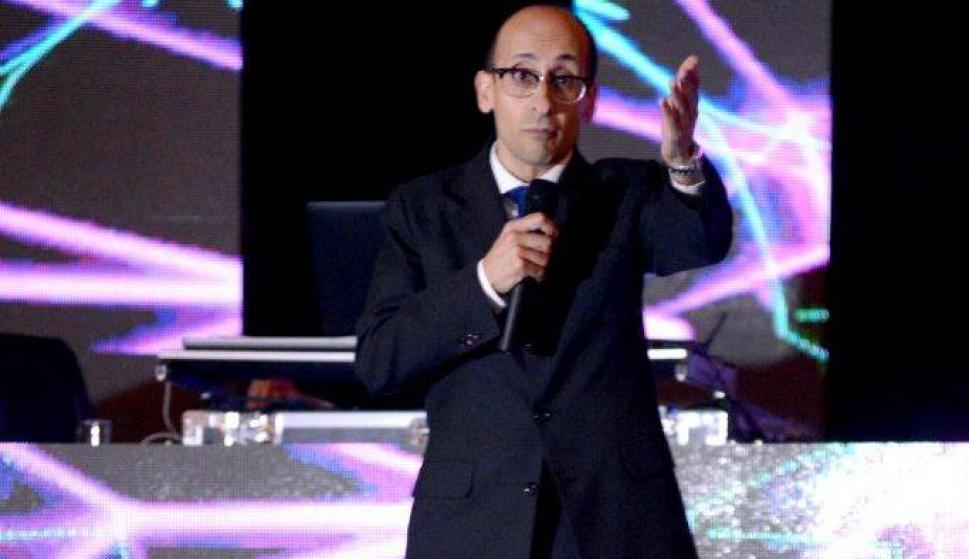 Diego Delgrossi ofreció un impecable show de stand up. Foto: Sadurskas