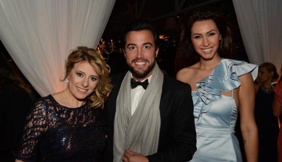 Ana Laura Roman, Fernando Cristino y Giannina Silva. Foto: Ruben Oroz
