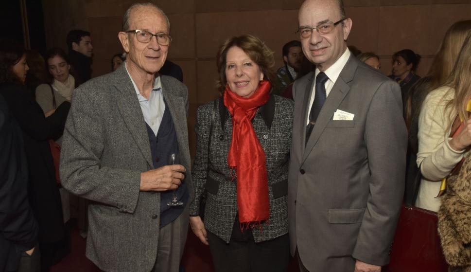 Ricardo Zerbino, Nancy Anton de Delpiazzo, Carlos Delpiazzo.