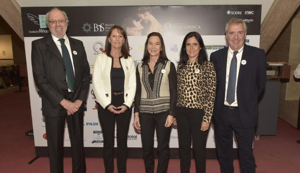 Eduardo Ameglio, Maria Mercedes Castilla, Lucía Victorica, Virginia Garcia, Gonzalo de Azpitare.