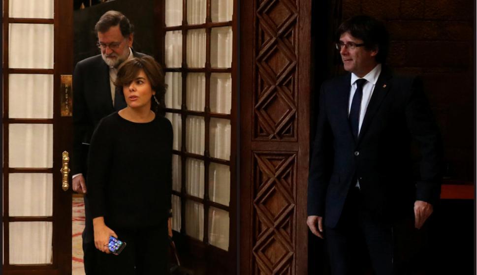 La crisis institucional por los intentos secesionistas de Cataluña tendrá hoy un desenlace. Foto: Reuters