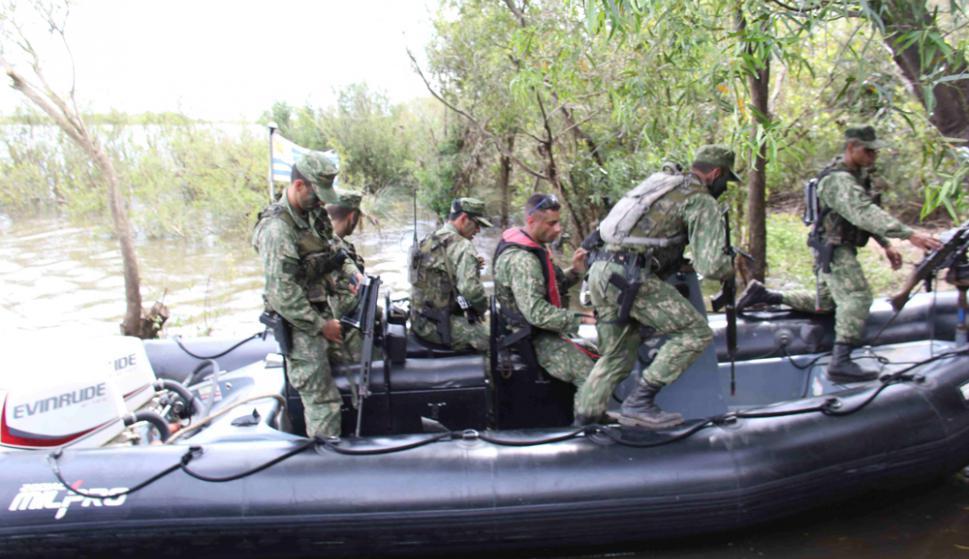 Operación Río Revuelto. Foto: Daniel Rojas