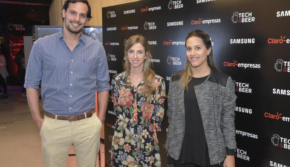 Bruno Quartara, Federica Marques, Valentina Ramos.