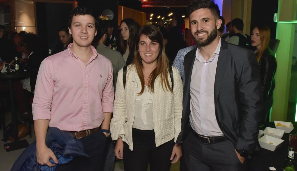 Emiliano Sabella, Natalia Draper, Germán Bello.