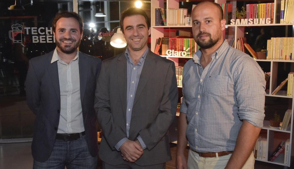 Federico Pais, Gonzalo Ferrando, Nicolás Vargas.