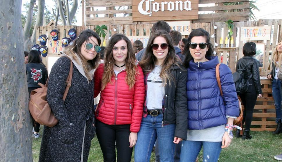 Agustina Berretta, Ici Rodríguez, Analía Moreira, María Noel Rampoldi.