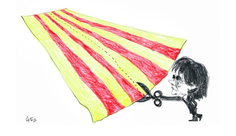 Carles Puigdemont por Arotxa