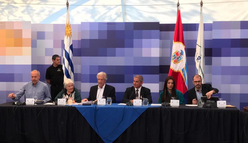 Se realizó un nuevo Consejo de Ministros abierto, esta vez en Flores. Foto: Darwin Borrelli