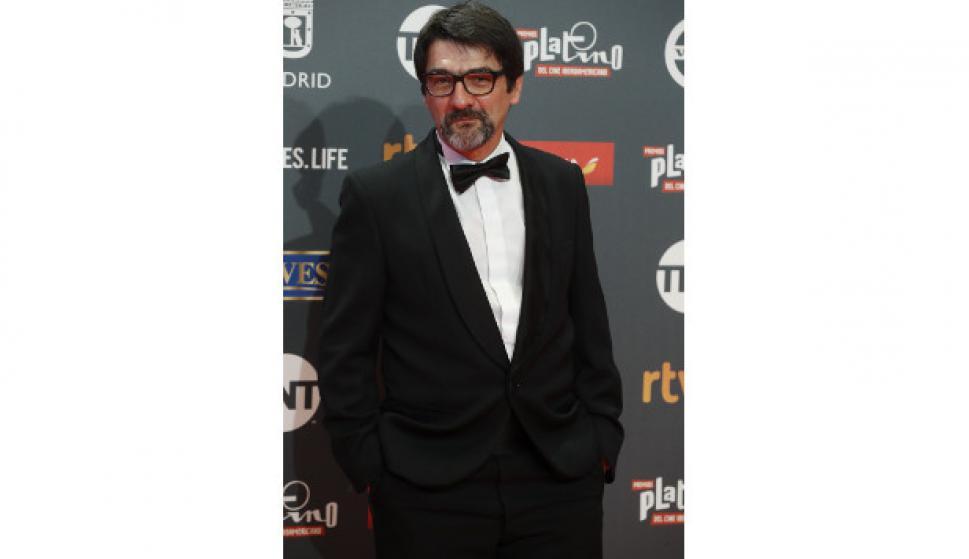 En los Premios Platino del Cine Iberoamericano, Madrid, 2017. Foto Archivo El País.