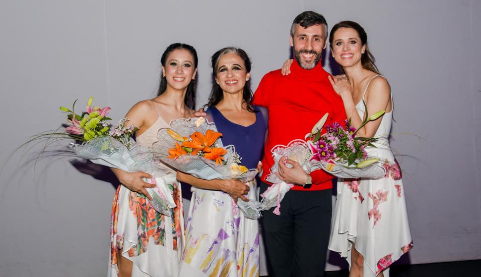 Tatiana Cruz, María Inés Camou, Martín Inthamoussu, María Noel Riccetto.