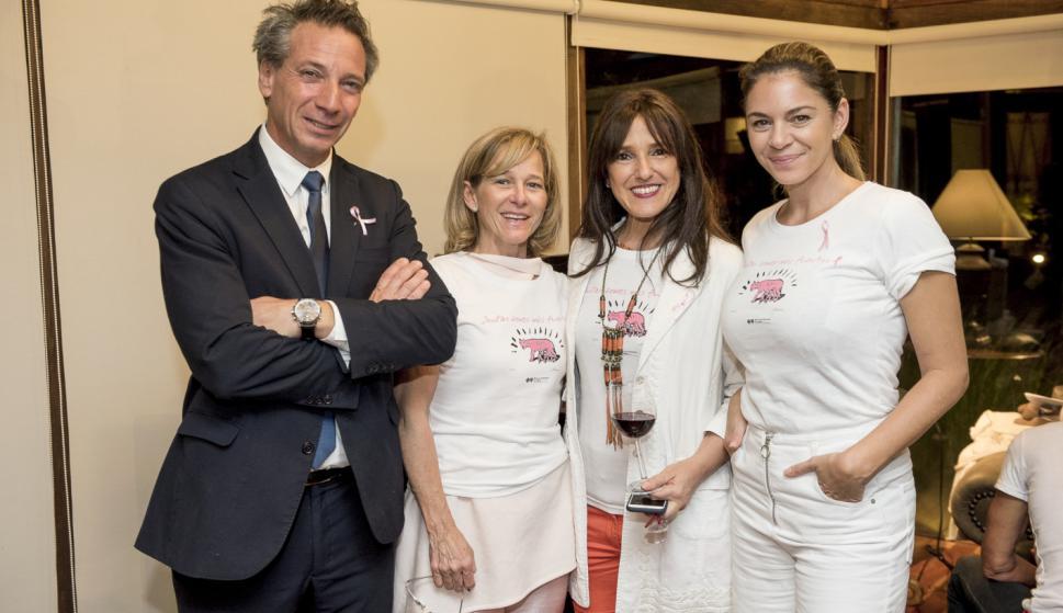 Pablo Fernández, Rose Galfione, María Jesus Arcelus, Andrea Menache.