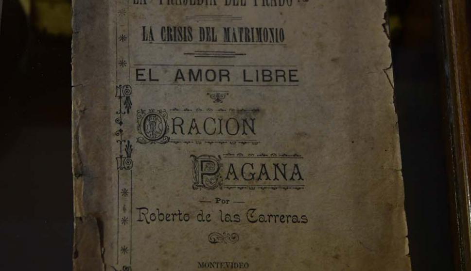 Una obra del dandy montevideano Roberto de las Carreras.