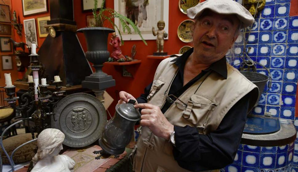 Pansacchi restaura y mantiene cada una de las piezas que tiene.