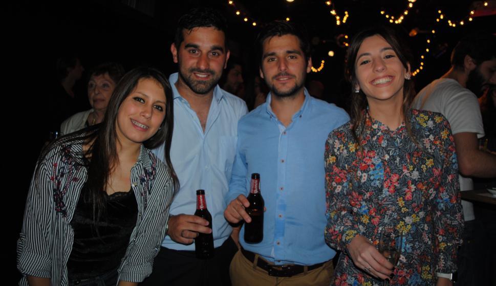 Karen D'Oliveira, Maximiliano Dumpiérrez, Guillermo Schneider, Romina Corbellini.