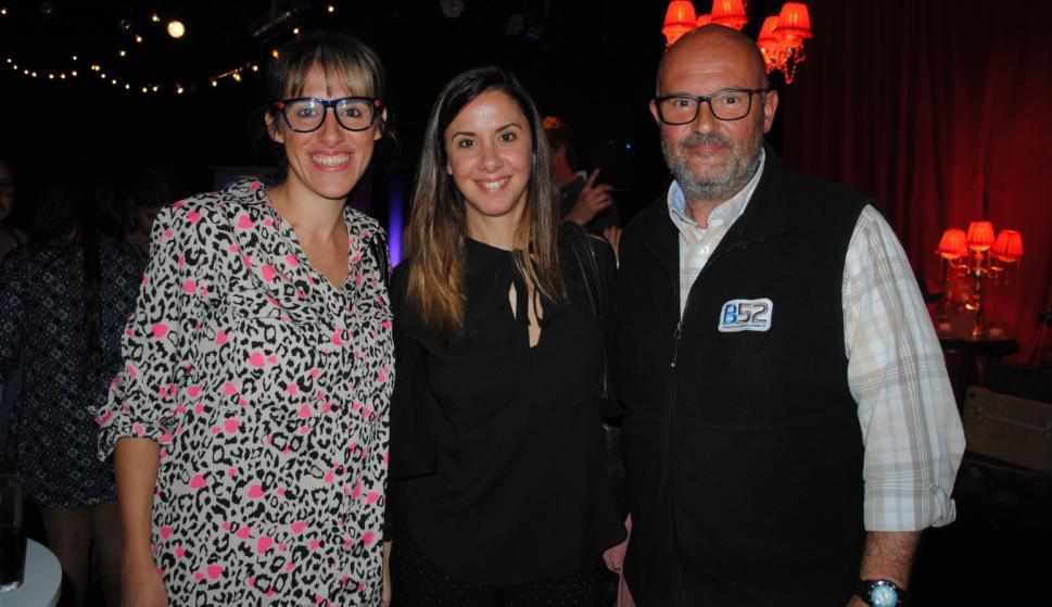 Valentina Bukoviner, Martina Risso, Gonzalo Torres.