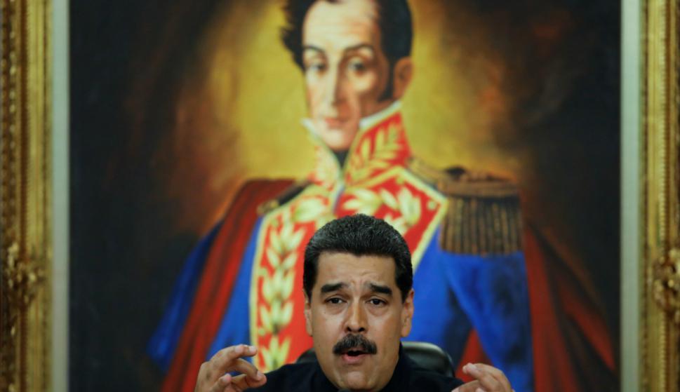 Maduro: puso al frente de las negociaciones a su vice Al Aissami. Foto: Reuters
