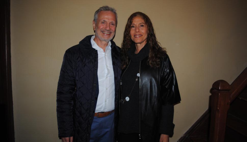 Ernesto Kimelman, Lizzie Rozenblun.
