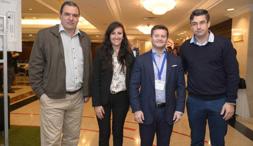 Rogelio Martínez, Natali Lagos, Marcos Bueno, Daniel Rivera.