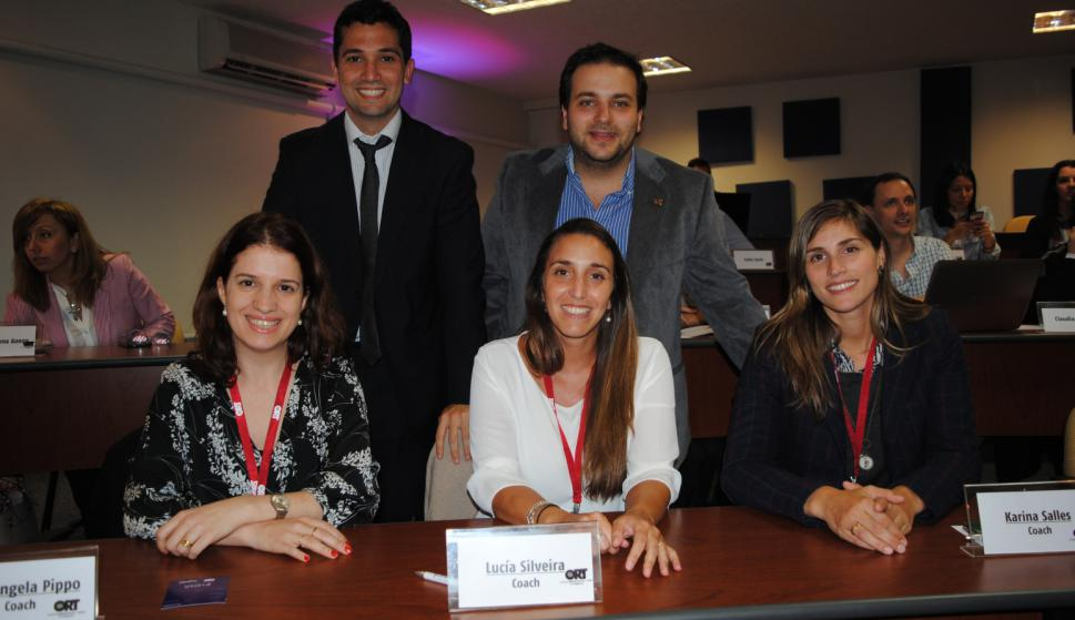 Gerónimo Navajas, Juan Pablo Saibene, Mariangela Pippo, Lucía Silveira, Karina Salles.