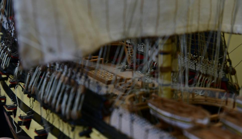 Algunos construyen los modelos desde cero, ciñéndose a los planos originales. Foto: F. Ponzetto
