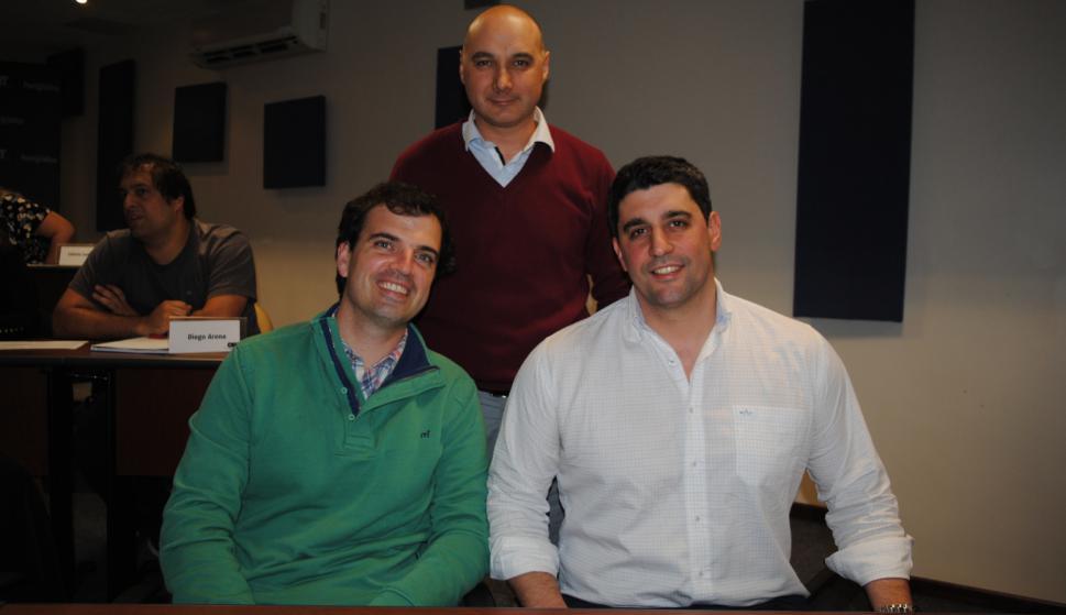 Rodrigo Marques, Juan Capurro, Brian Rigby.