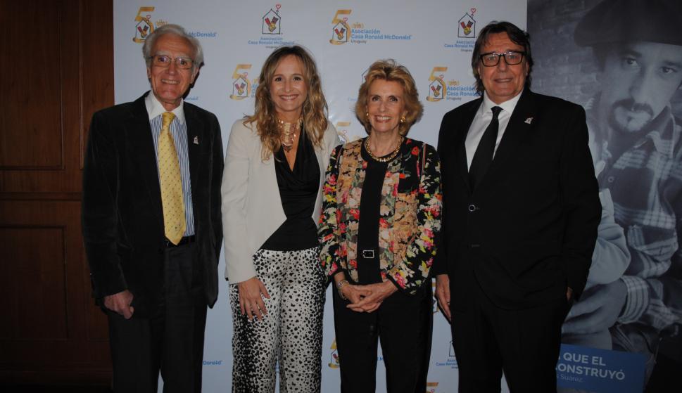 Alberto Brause, Laura Raffo, Julia Rodríguez Larreta, Emir Cámara.