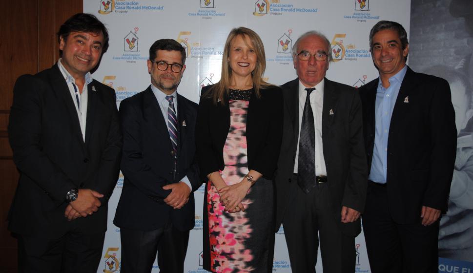 Daniel Guazzo, Alvaro Vázquez, Sandra Marcos, Richard Millán, Ricardo Méndez.