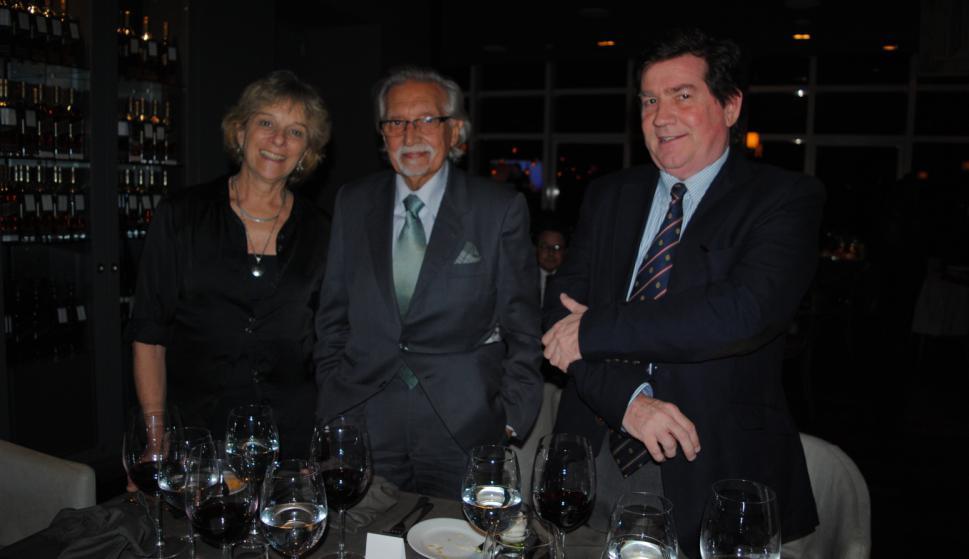 Graciela Sapriza, Mariano Arana, William Rey.