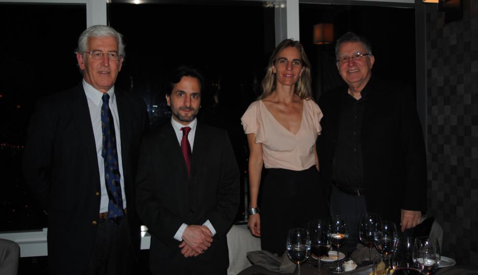 Horacio Artagaveytia, Facundo Almeida, Adela Dubra, Bruno Podestá.