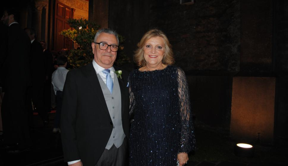 Padrinos Julio Galmarini, María Isabel Garbarino.