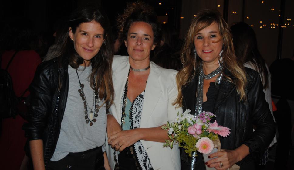 Fiorella Corbellini, Gimena Ribas, Geraldine Lewi.