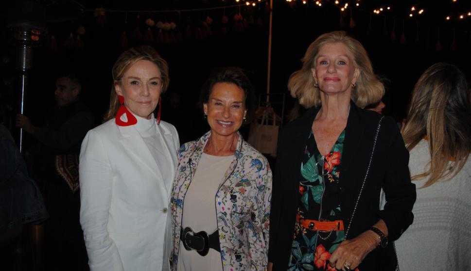 Paulina Rubio, Teresa Pereira, Mercedes Danvila.