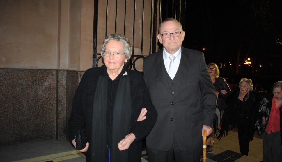 Gladys Coraglia de Schneck, Francisco Schneck.