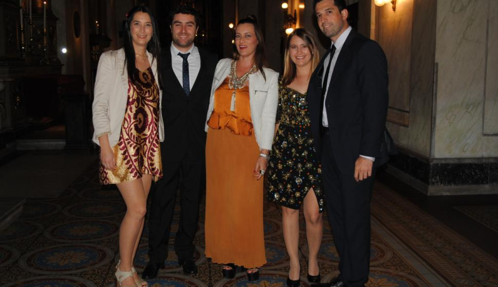 Matilde Masdeu, Leonardo Quartino, Victoria Silvera, María Inés Rosas, Juan Ortiz.