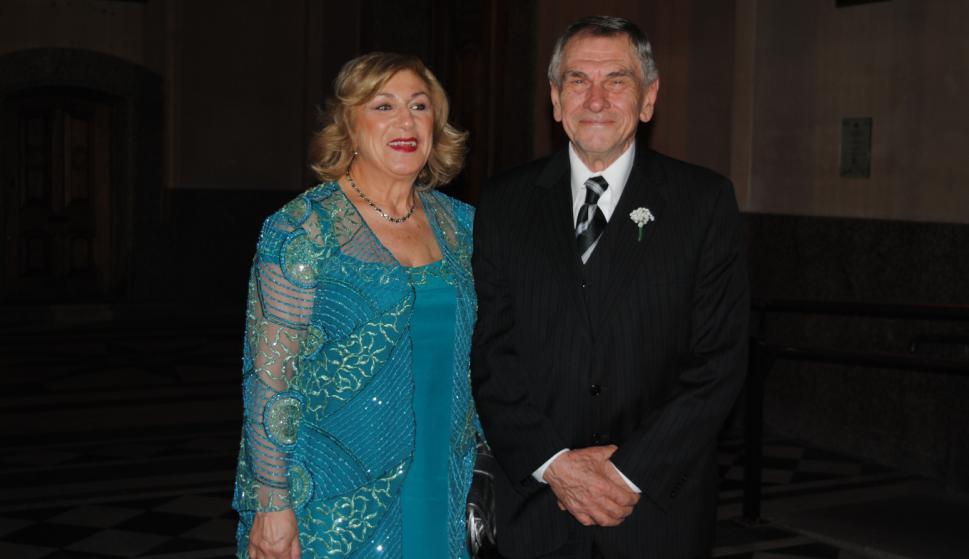 Padrinos Myriam Caminiti, Jorge Bussi.