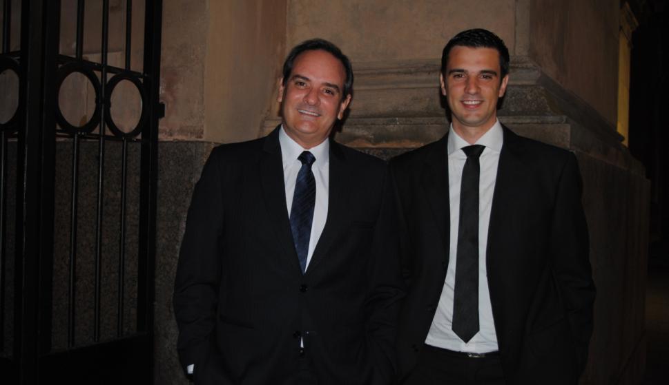 Sergio y Gonzalo Ríos.