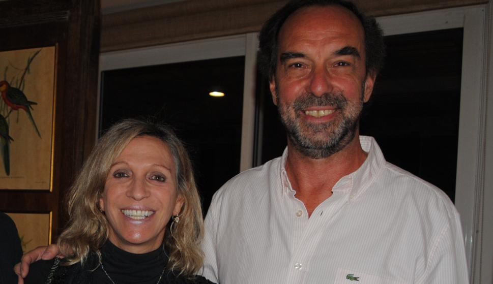 Andrea Mendoza, Alvaro Risso.